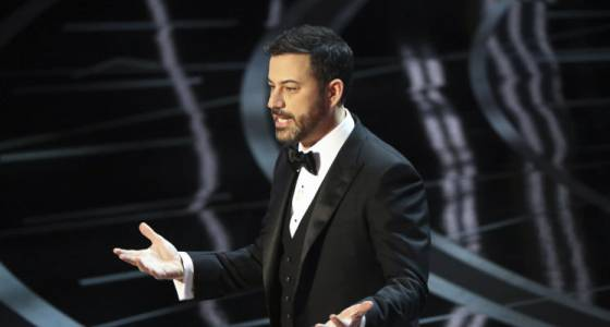 Jimmy Kimmel's Oscars monologue didn't pull Trump punches (w/video)