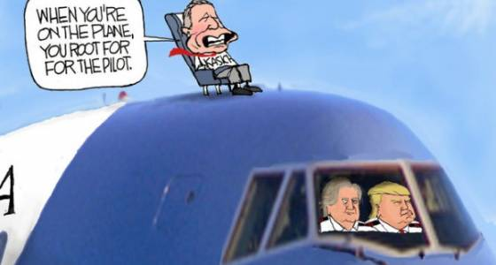 Kasich and Trump air it out: Darcy cartoon