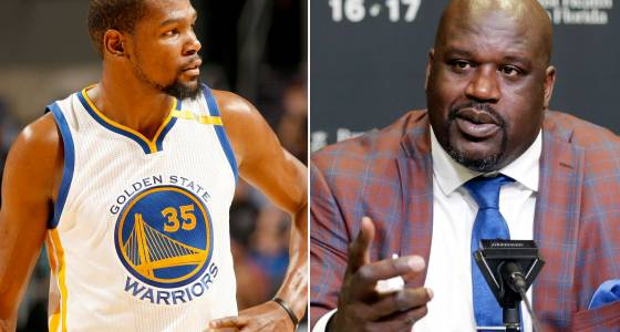 Kevin Durant rips 's–tty' shooter Shaq in defense of teammate