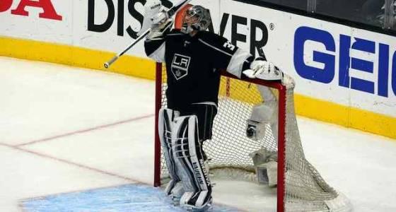 Kings' scoring woes a concern as Jonathan Quick nears return to net