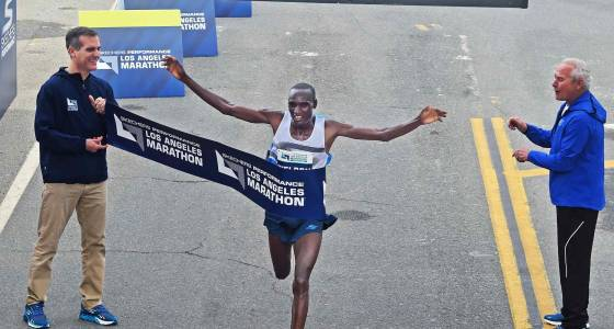 L.A. Marathon champs Kirui, Limo back for March 19 race