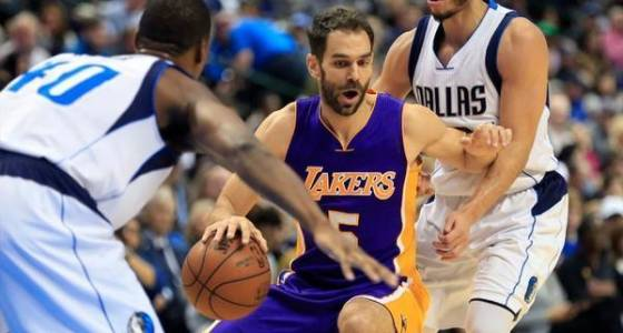 Lakers waive guard Jose Calderon