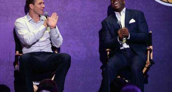 Lakers' Magic Johnson, Luke Walton evaluating young roster with future in mind