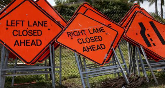 Lane closure on St. Paul Street continues Monday for water main repair