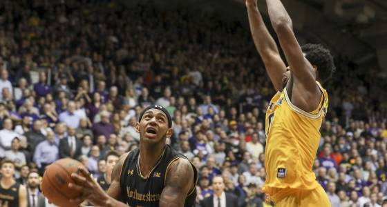 Last-second bucket likely punches Northwestern ticket to NCAA tournament