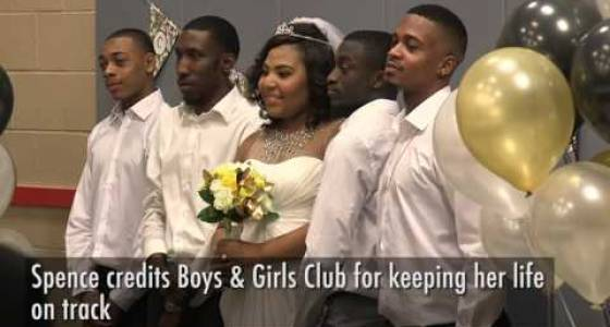Longtime member of Boys & Girls Clubs of Cleveland ties the knot with a twist Friday (video)