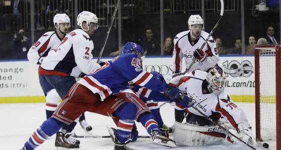 Lundqvist, Rangers fall to Capitals