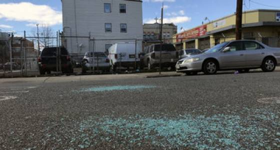 Man stabbed 8 times, car windows shattered in Jersey City bar fight: cops