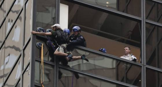 Man who climbed Trump Tower reportedly pleads guilty