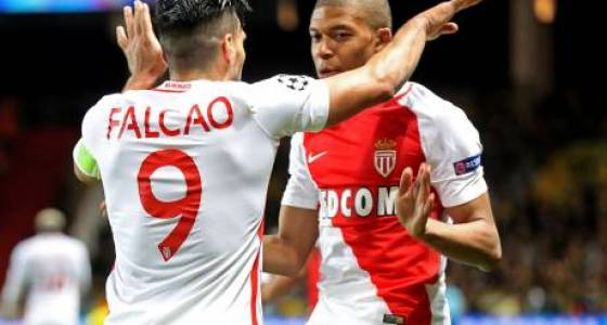 Mbappe scores again as Monaco crush Dortmund