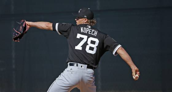 Michael Kopech has thorny introduction to Cactus League play