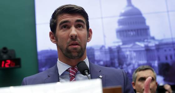 Michael Phelps urges Congress to join fight against doping in sports