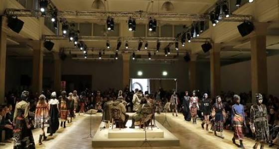 Milan Fashion: Stella Jean explores Cold War nostalgia