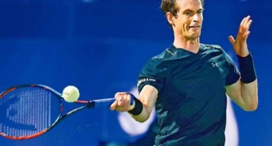 Murray makes light work of Jaziri at Dubai Open