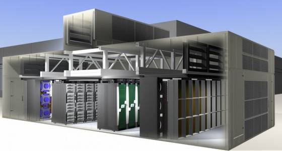 NASA's new efficient super computing facility will save 1.3 million gallons of water a year