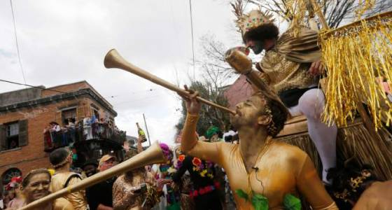 New Orleans Fat Tuesday ends carnival season