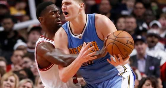 Nikola Jokic records third triple-double as Nuggets score key road win over Chicago Bulls