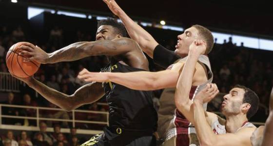 No. 6 Oregon men survive Stanford's upset bid