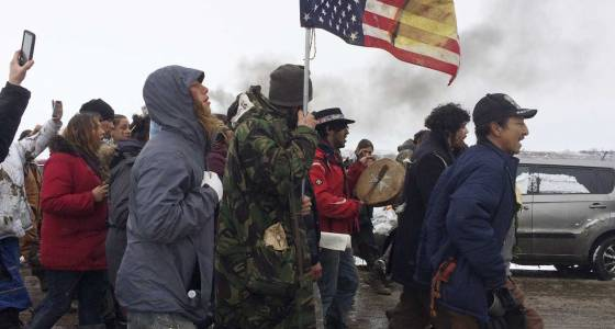 Oil pipeline camp cleared of protesters