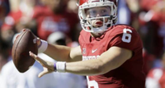 Oklahoma QB Baker Mayfield charged with intoxication, fleeing