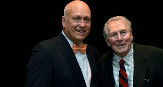 One Orioles legend celebrates another with Cal Ripken, Brooks Robinson at Aspire Gala