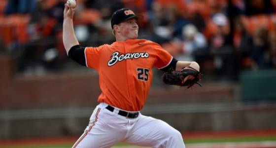 Oregon State pitcher Drew Rasmussen throwing bullpen sessions in hope of 2017 return