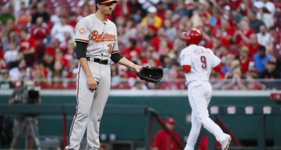 Orioles recap: Right-hander Kevin Gausman shellacked in 9-3 loss to Reds