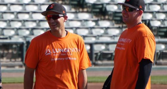 Orioles utility man Ryan Flaherty dealing with arm issue