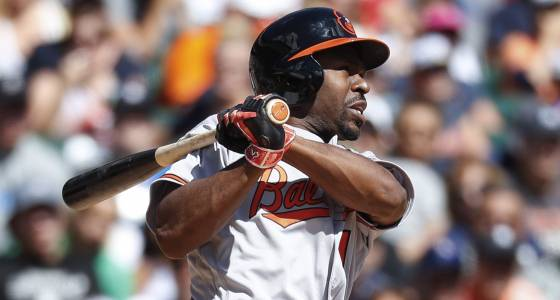 Orioles' Bourn on football-related injury: 'That's the risk you take, so you have to live with it.'