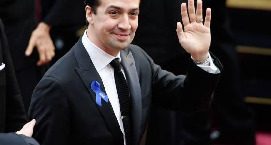 Oscars Blue Ribbon: Lin-Manuel Miranda, Karlie Kloss And More Make A Statement
