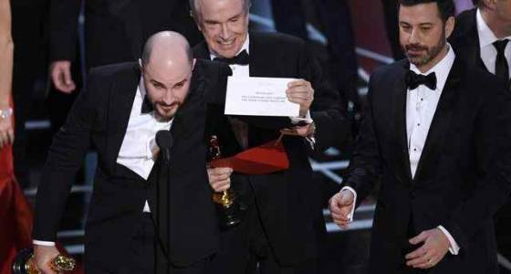 Oscars' best picture fail joins list of 10 great gaffes