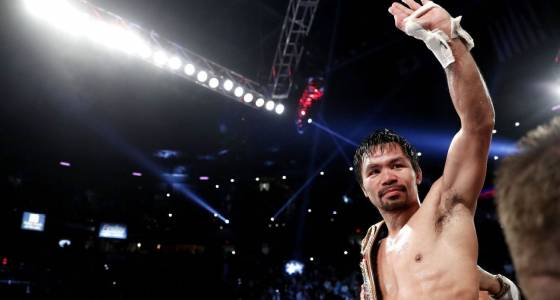 Pacquiao, Khan announce they'll fight in April