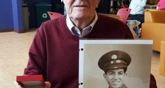 Parma WWII veteran receives French medal of honor