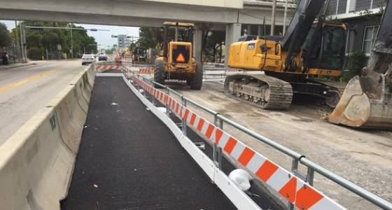 Pedrail introduces a barrier to protect people walking and biking