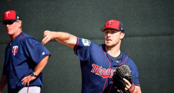 Phil Hughes returns to the mound in Twins' spring training loss to Boston