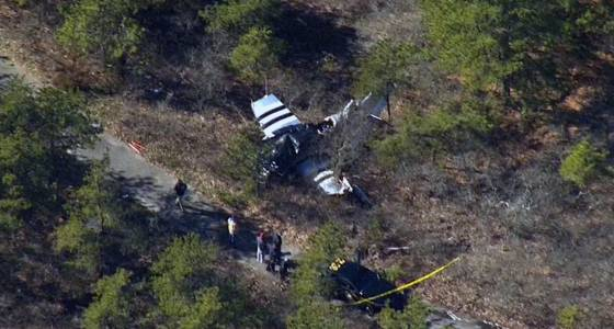 Plane carrying 3 crashes on Long Island