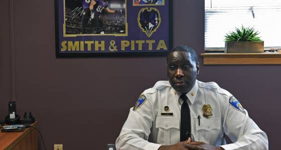 Police district commander replaced in hard-hit area