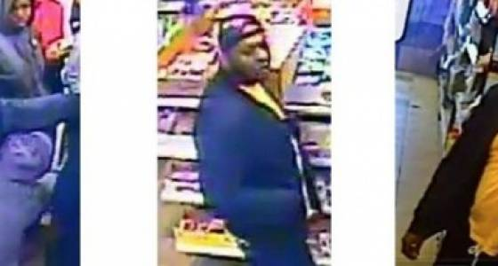 Police search for man who pointed gun in Newark store