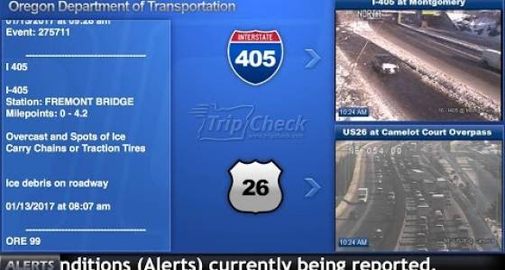 Portland Metro Tuesday Traffic: Icy conditions in outer Washington and Yamhill counties