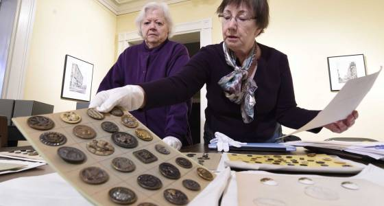 Preserving Capital Region's button history in Troy is a multi-year task