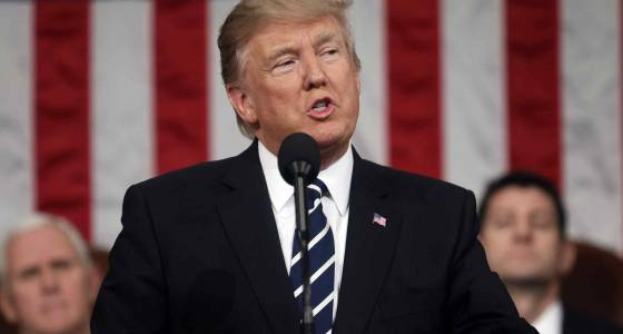 President Donald Trump vows to launch an infrastructure rebuilding program