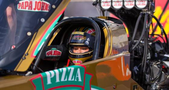 Pritchett breaks Top Fuel national time record