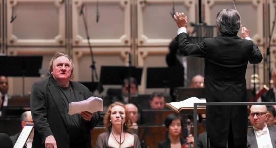 Prokofiev's 'Ivan the Terrible' gets royal treatment in CSO debut under Muti with Gerard Depardieu