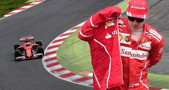 Raikkonen fastest on Day 2 of F1 testing