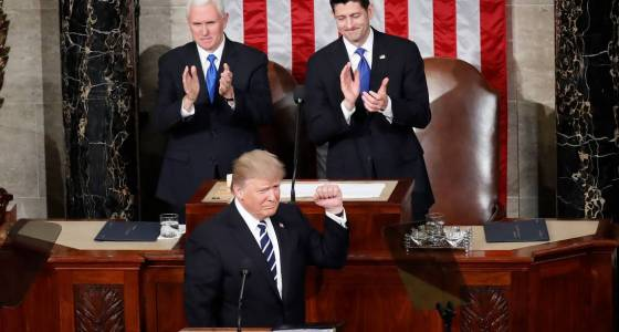 Republicans praise the tone of Trump's speech, but it may not move the ball