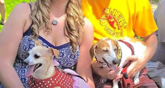 Rescue pups Gigi, Frankie make Lyndhurst family complete: People and their pets