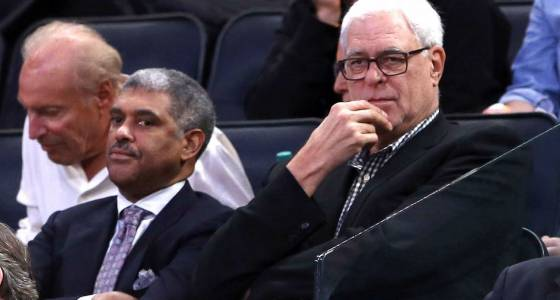 Ringing in Phil Jackson's Knicks' anniversary with sounds of discord
