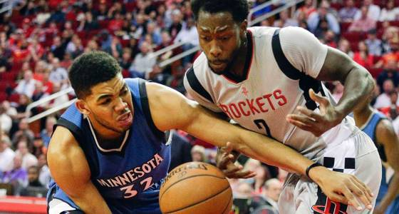 Rockets, Timberwolves put up some crazy numbers in Houston victory