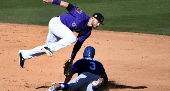 Rockies' Ian Desmond displays growing pains at first base
