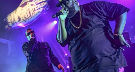 Run the Jewels' NYC concert: An explosive session of protest and passion (PHOTOS)